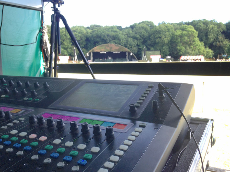 Live Events | Digital mixing desks – Allen and Heath GLD and QU mixing consoles with stage boxes
