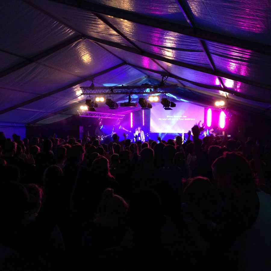 SOLID Festival – Sound, Lighting, Projection and staging for Solid Festival