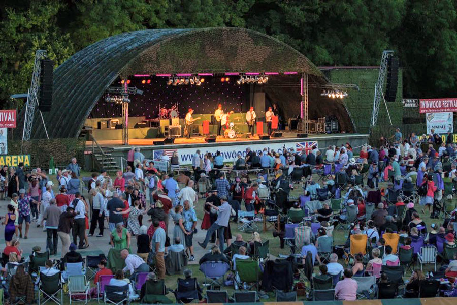 Twinwood Festival – Large Scale festival PA System