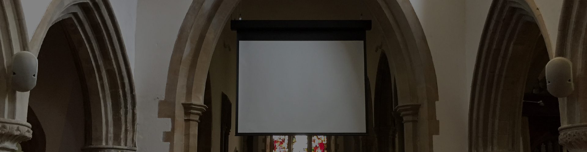 Speakers and Screen Installation