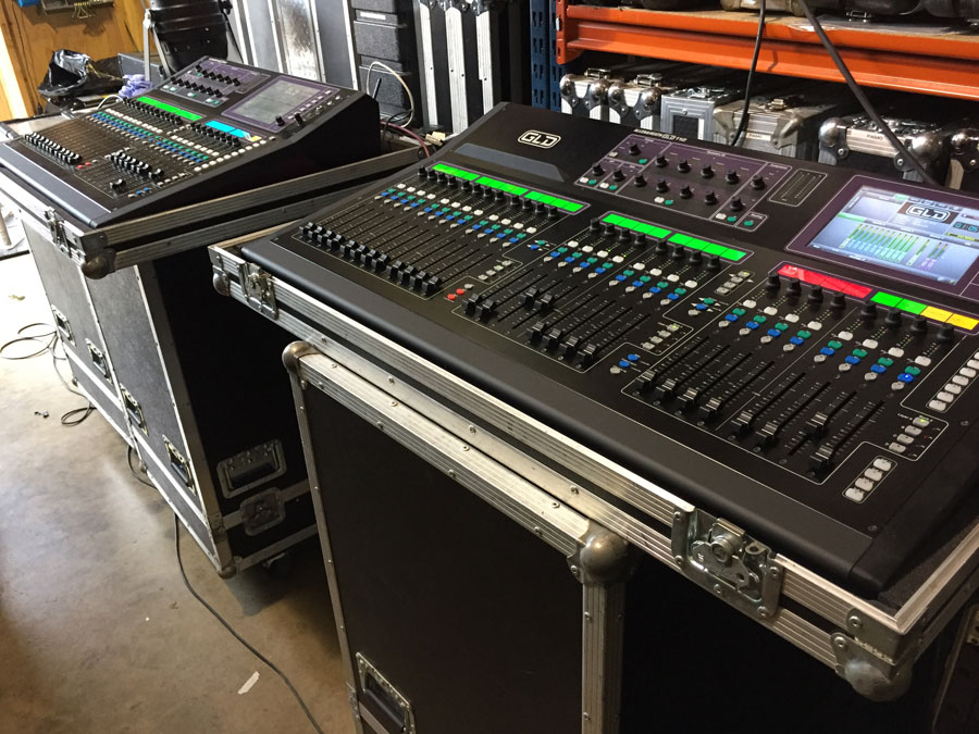 Hire | Digital Mixing systems prepped ready for hire
