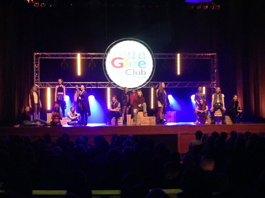 Glee Club challenge – Full Production for multiple regional finals and the Grand Final held at Indigo at the o2