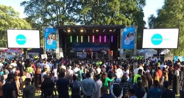 Luton Mela – Sound and lighting for this two day event
