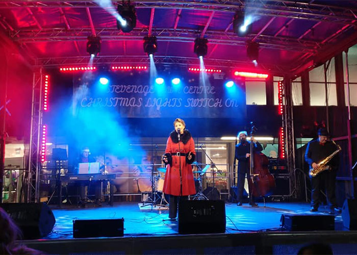 Christmas Light Switch On, Stevenage Town Centre